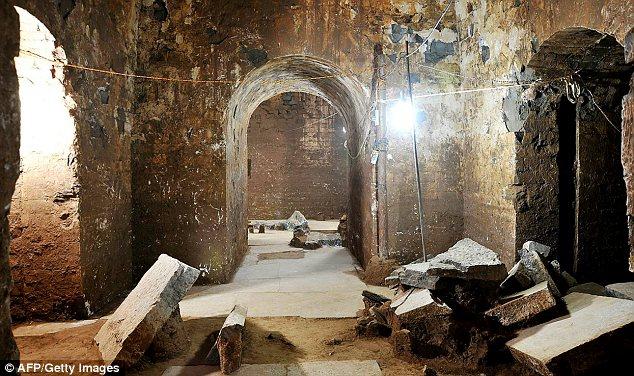 Makam Kaisar Cao Cao...