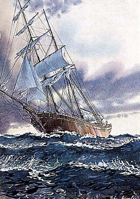 Kapal Mary Celeste...